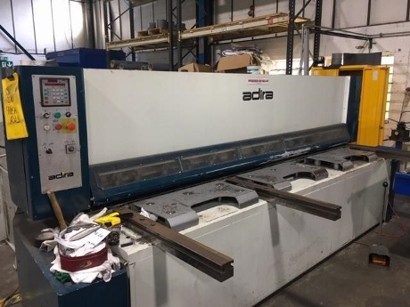 Adira Guillotines, Adira Shears, used 6mm guillotines, used shears, used adira guillotine, used sheet metal machinery, used fabrication machinery, new guillotines, nes guillotine shears, accurl guillotine shears, new guillotine shear blades, adira spare parts, Elgo read outs