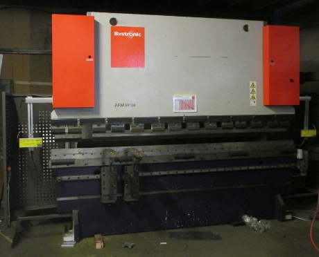 BYSTRONIC PR 100t x 3100mm 5 axis CNC Pressbrake. Year 2008