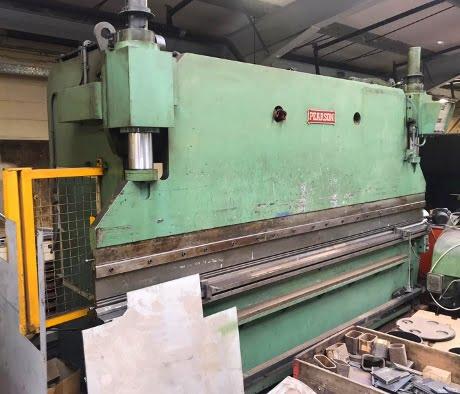 pearson pressbrakes, used brakepresses, used pressbrakes, used fabrication machines, used sheet metal machinery