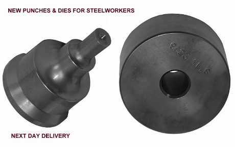 new punches and dies, steelworker punches & dies, ironworker punches and dies, geka punches, geka dies, kingsland punches, kingsland dies, peddinghaus tooling, ironworker tooling, mubea tools, sunrise, utting, durma, edwards jaws punches & dies, piranha tooling