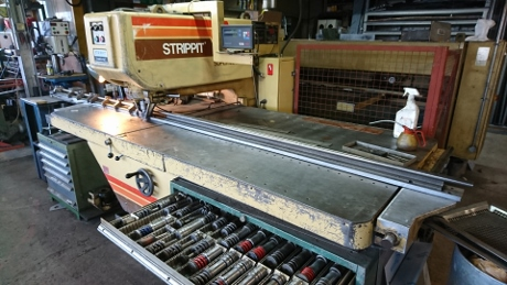 Used Strippit hole punch, Strippit duplicator, punch and die grinders, pierce all punch, used sheet metal machines, used cnc turret punches, service engineer