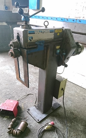 used power swagers, used walton swager, used ductforming machines, used sheet metal machinery, used fabrication machines