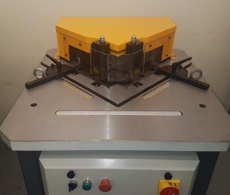 New Corner Notchers, Accurl notching machines, New sheet metal machinery, new fbrication machines, new notchers,