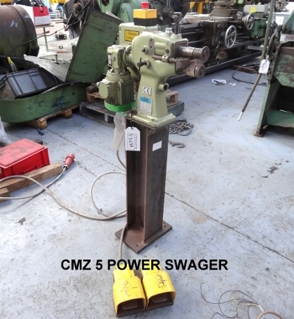 cmz power swager, used cmz swager, used swagers, used ductworking machines, used sheet metal machinery, used fabrication machines