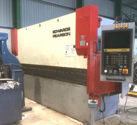 Edwards Pearson, Bystronic, Cnc Pressbrakes, Brakepresses, Sheet Metal Machines, New Pressbrake Tooling, PR3 Edwards Pearson Brakepress, Cybelec,