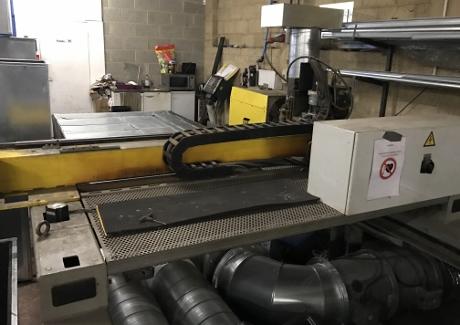 ESAB CNC Plasma Cutter, Eagle 2000 Plasma, CNC Fabrication Machinery, Used CNC Plasmas, Used Sheet Metal Machinery