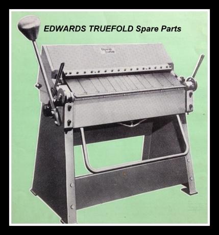 EDWARDS TRUEFOLD Folder Spares