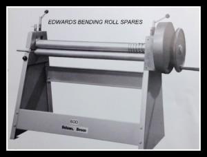 EDWARDS manual Bending Rollers